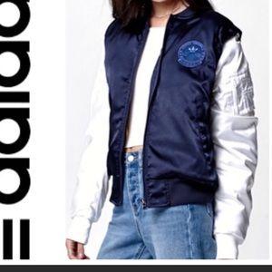 Adidas Rita Ora Cosmic Bomber Jacket NWT sz.L $120